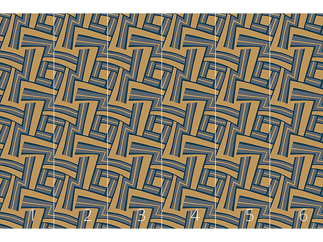 Designtapete Labyrinth Kamel