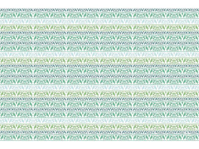 Designtapete Encora Grün