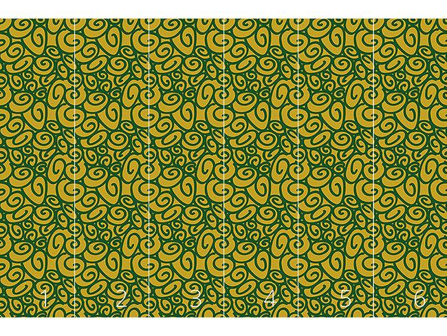 Designtapete Anfang Und Ende Grün