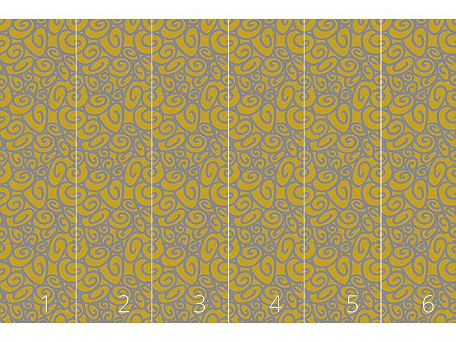 Designtapete Anfang Und Ende Gold Silber