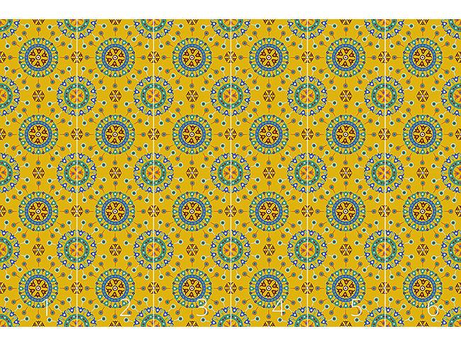 Designtapete Wayuu Ethno