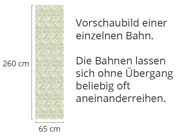 Designtapete Buschwerk Und Punkt