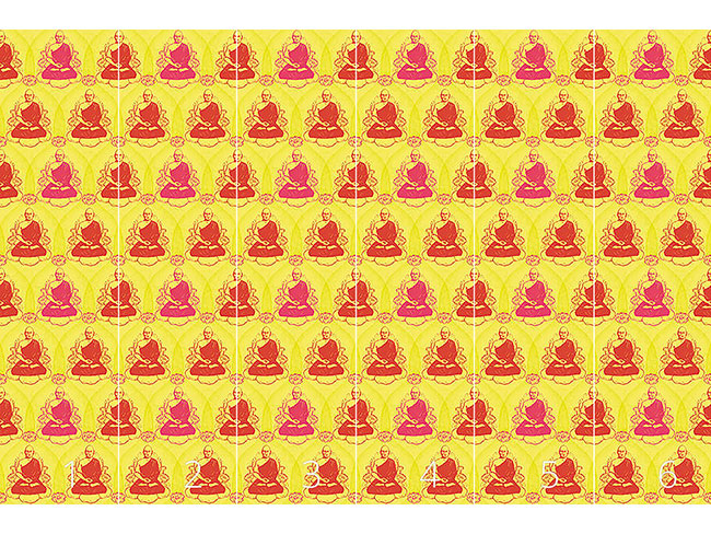 Designtapete Buddha Meditation