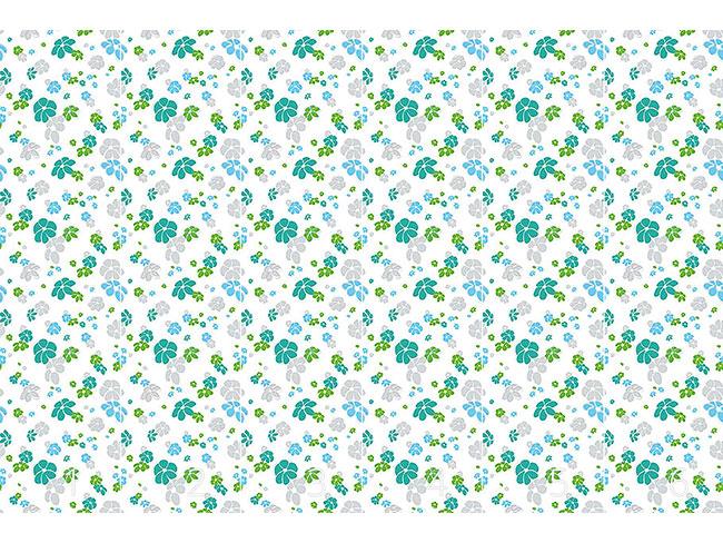 Designtapete Blumenregen In Weiss