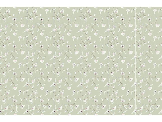 Designtapete Flora Zack Wasserlilie