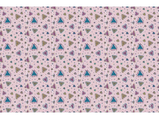 Designtapete Beerenfall Rosa