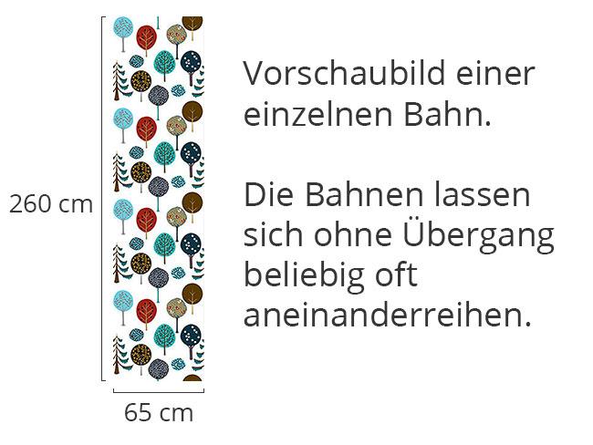 Designtapete Baumschule