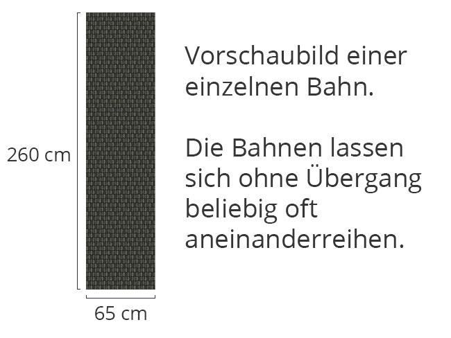 Designtapete Schuppenkleid Schwarz