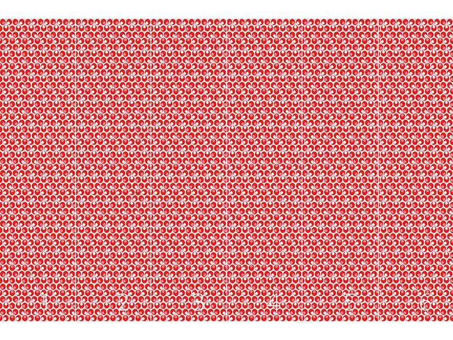 Designtapete Cintemani Rosso