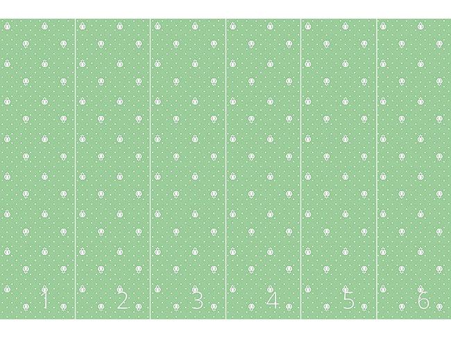 Designtapete Früchtchen Auf Grün