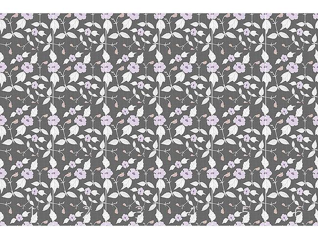 Designtapete Florales Netzwerk