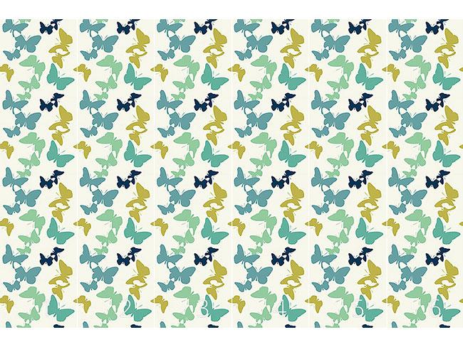 Designtapete Zeit Der Schmetterlinge Offwhite