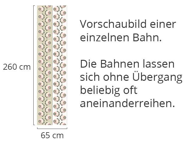 Designtapete Lichtröslein