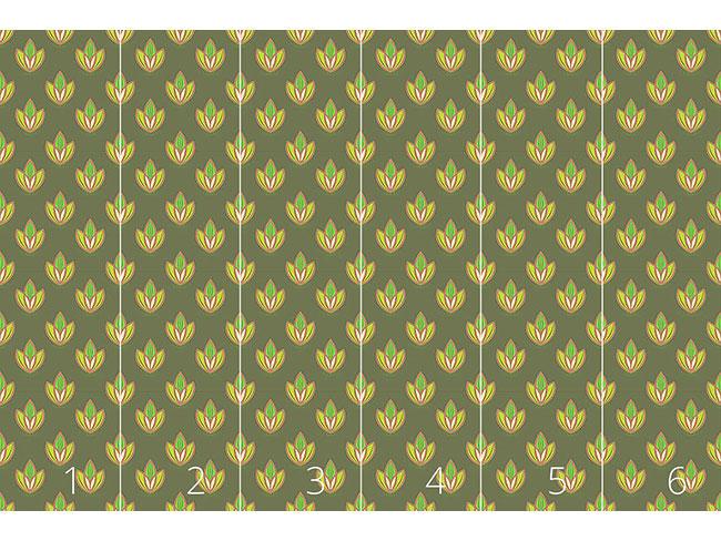 Designtapete Kleiner Lotus