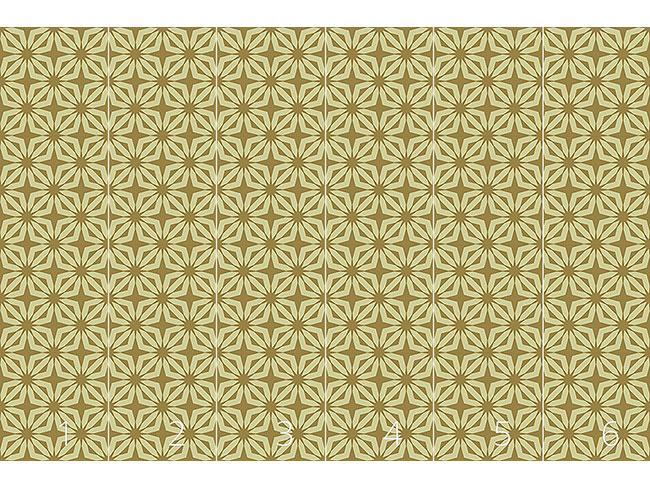 Designtapete Stella Gold