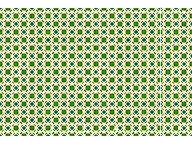 Designtapete Etoiles Du Vert