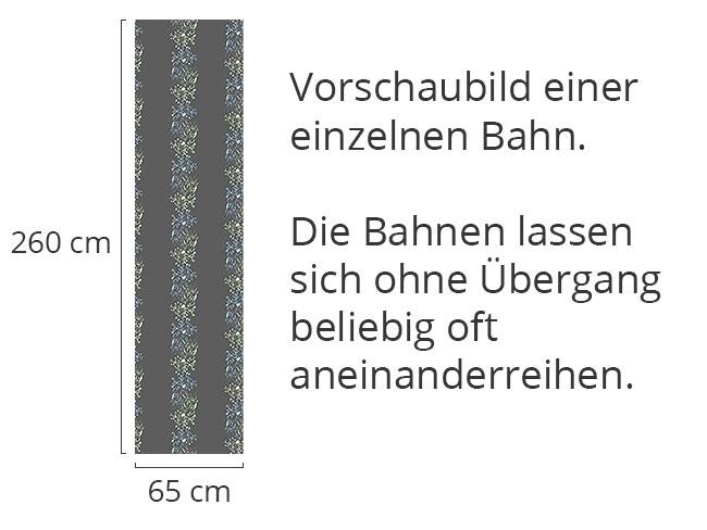Designtapete Verblüher