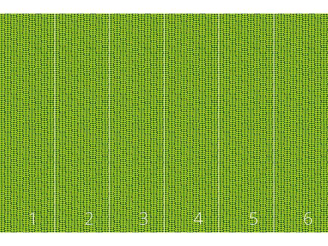 Designtapete Blattgrün Retro