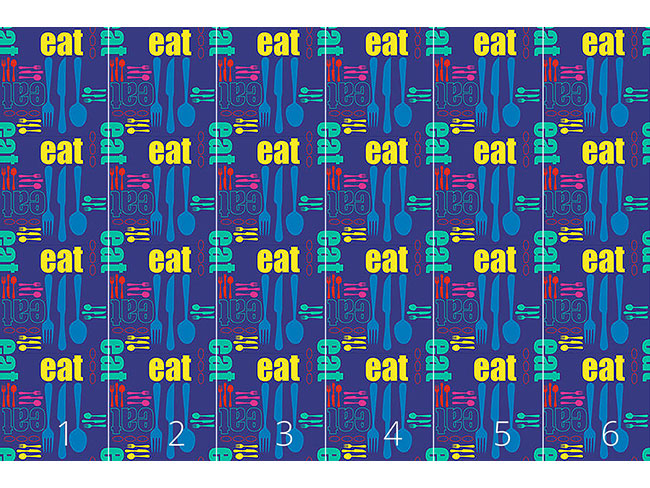 Designtapete Essen Und Geniessen