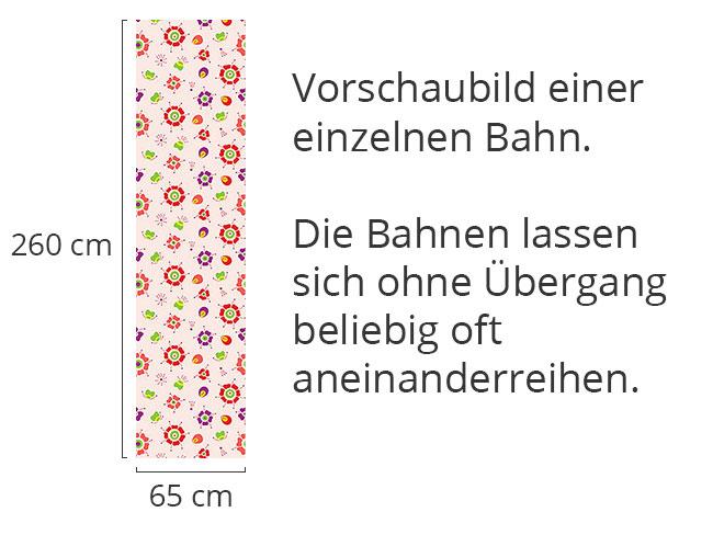 Designtapete Marienkäfer