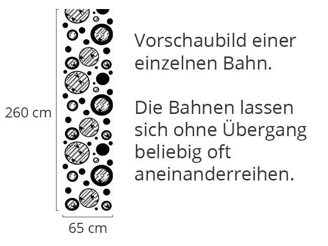 Designtapete Hahnentritt Dalmatiner