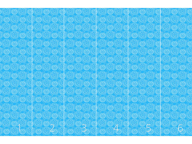 Designtapete Himmlisches Blau