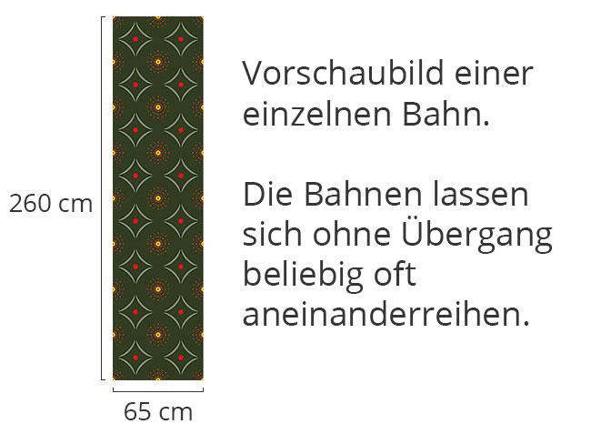 Designtapete Püktchen Trifft Karo