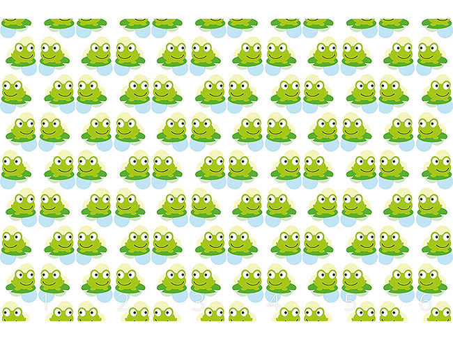 Designtapete Frosch Zwillinge