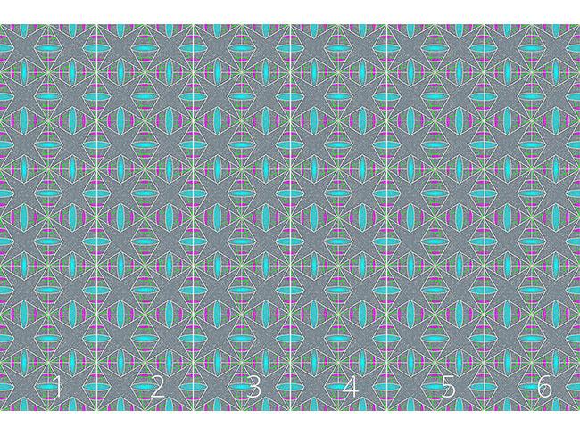 Designtapete Linien Und Linsen