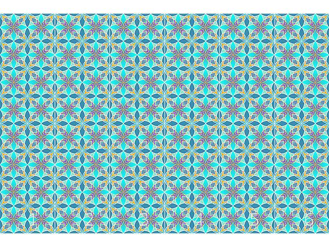 Designtapete Curaçao Blue