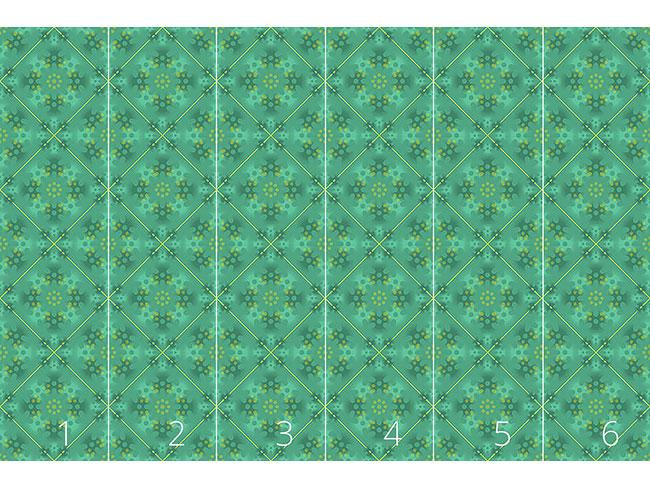 Designtapete Grüne Patina