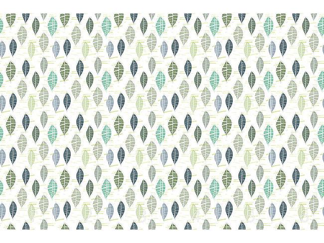 Designtapete Blätter In Pastell