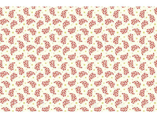 Designtapete Kleine Blumen