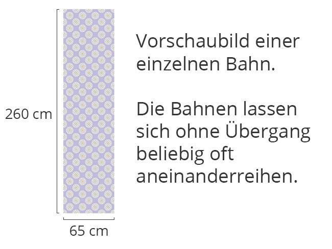 Designtapete Fantasie Schauplatz Flieder