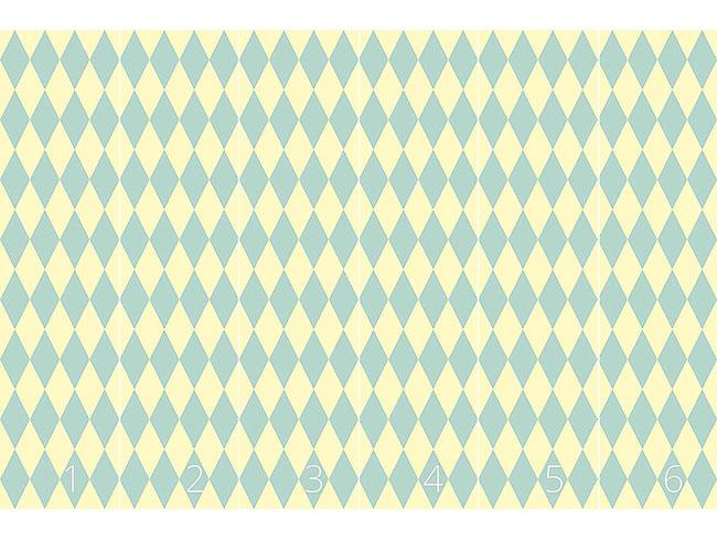 Designtapete Pastell Harlequin