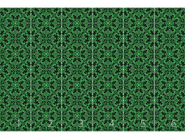 Designtapete Grüne Romanze