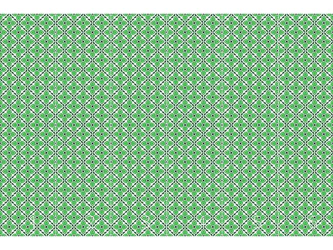 Designtapete Fesselndes Grün