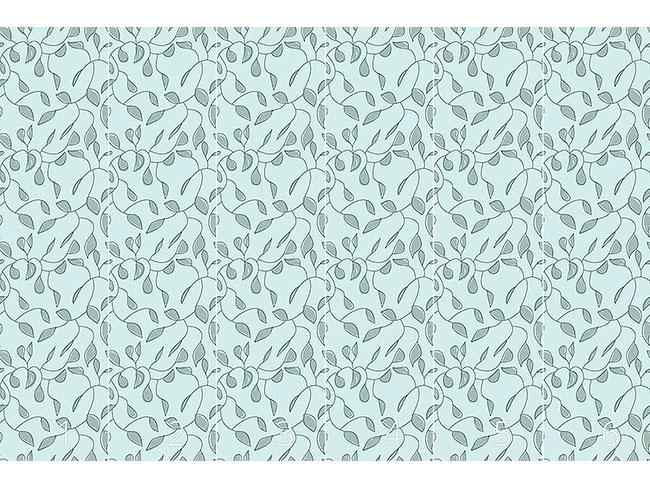 Designtapete Twigs In Pastell