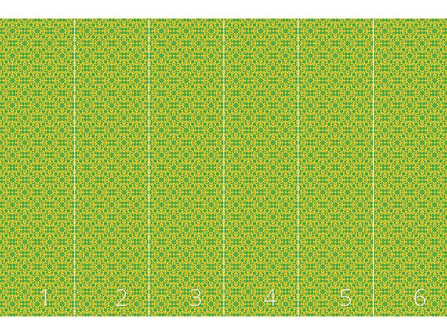 Designtapete Green Grid