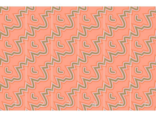 Designtapete Pastell Pop