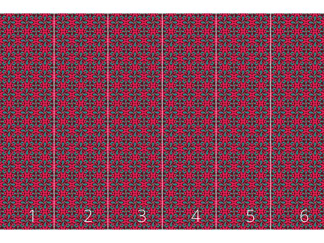 Designtapete Roter Schlingel