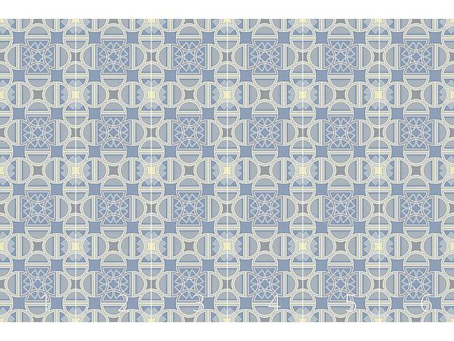 Designtapete Palazzo Azur