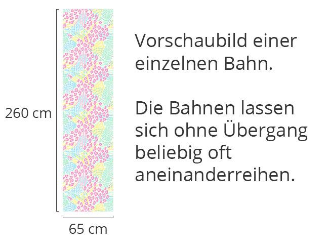 Designtapete Raubkatze Trifft Zebra