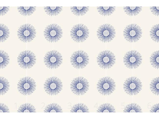 Designtapete Sonnenblumen Blues