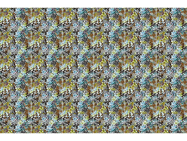 Designtapete Wilde Afrolilien