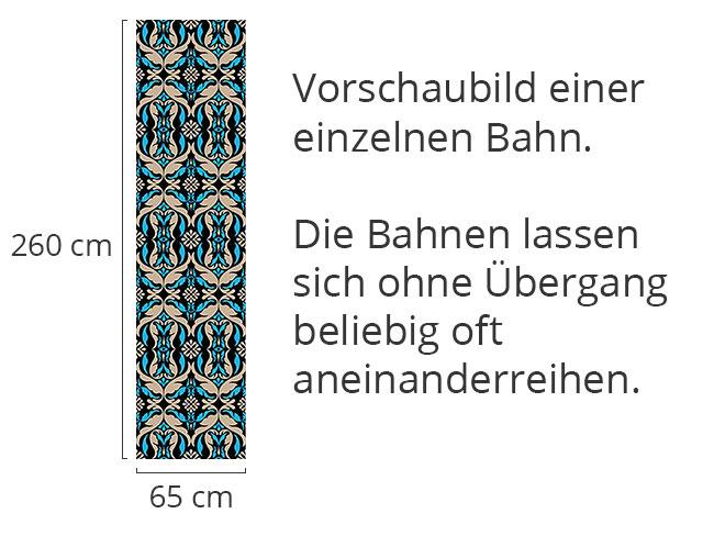 Designtapete Historische Blätter
