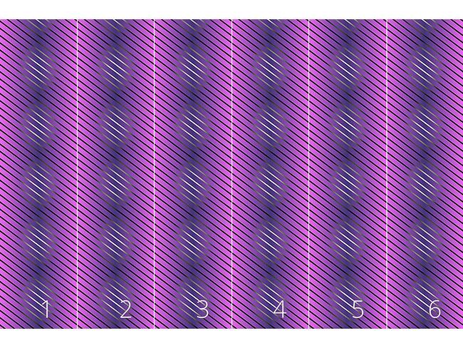 Designtapete Lila Linien