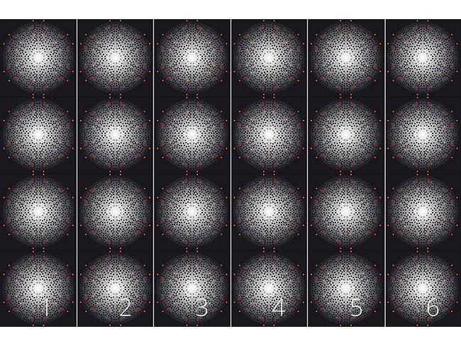 Designtapete Big Bang Dotty