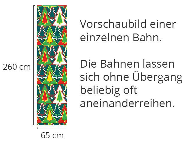 Designtapete Nadelbaumwald