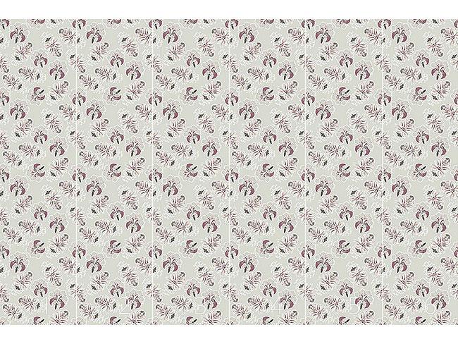 Designtapete Üppige Flora Pastell